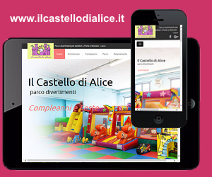 Nuovo sito web Il Castello di Alice Lucca